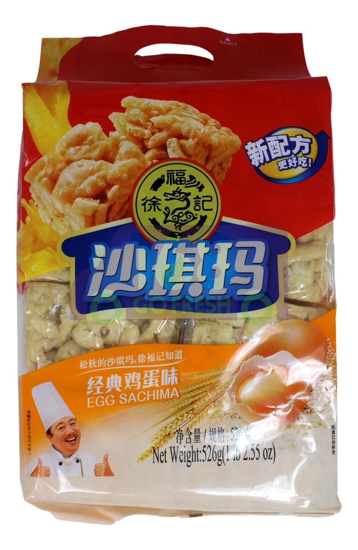 SOFT EGG FOOD(THE EGG CRISP) 徐福记 沙琪玛(526G)