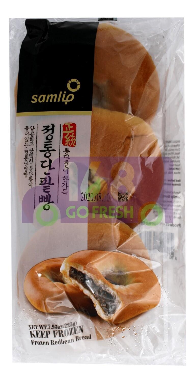 SAMLIP RED BEAN BREAD 韩国产 SAMLIP红豆包 3个装(7.94OZ)
