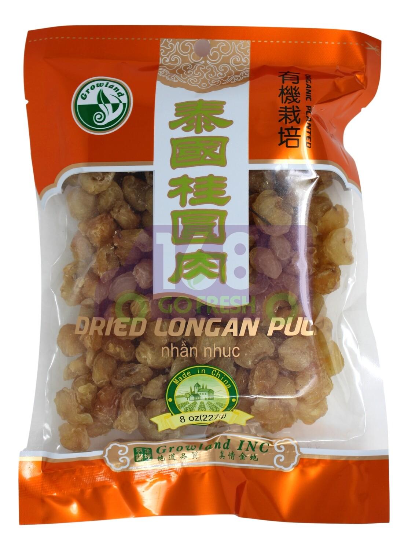 DRIED LONGAN PULP 泰国桂圆肉(有机培育)(7OZ)