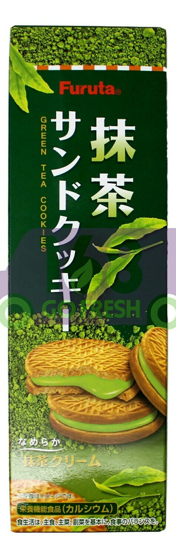JAPANESE COOKIE MATCHA FURUTA 日本抹茶夹心饼干(87G)
