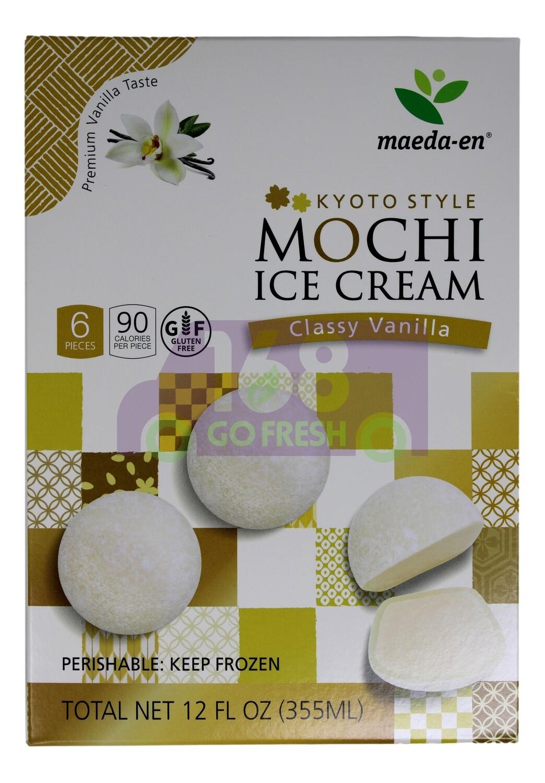 MAEDA-EN VANILLA MOCHI ICE CREAM  香草麻麻薯冰淇淋(12OZ)
