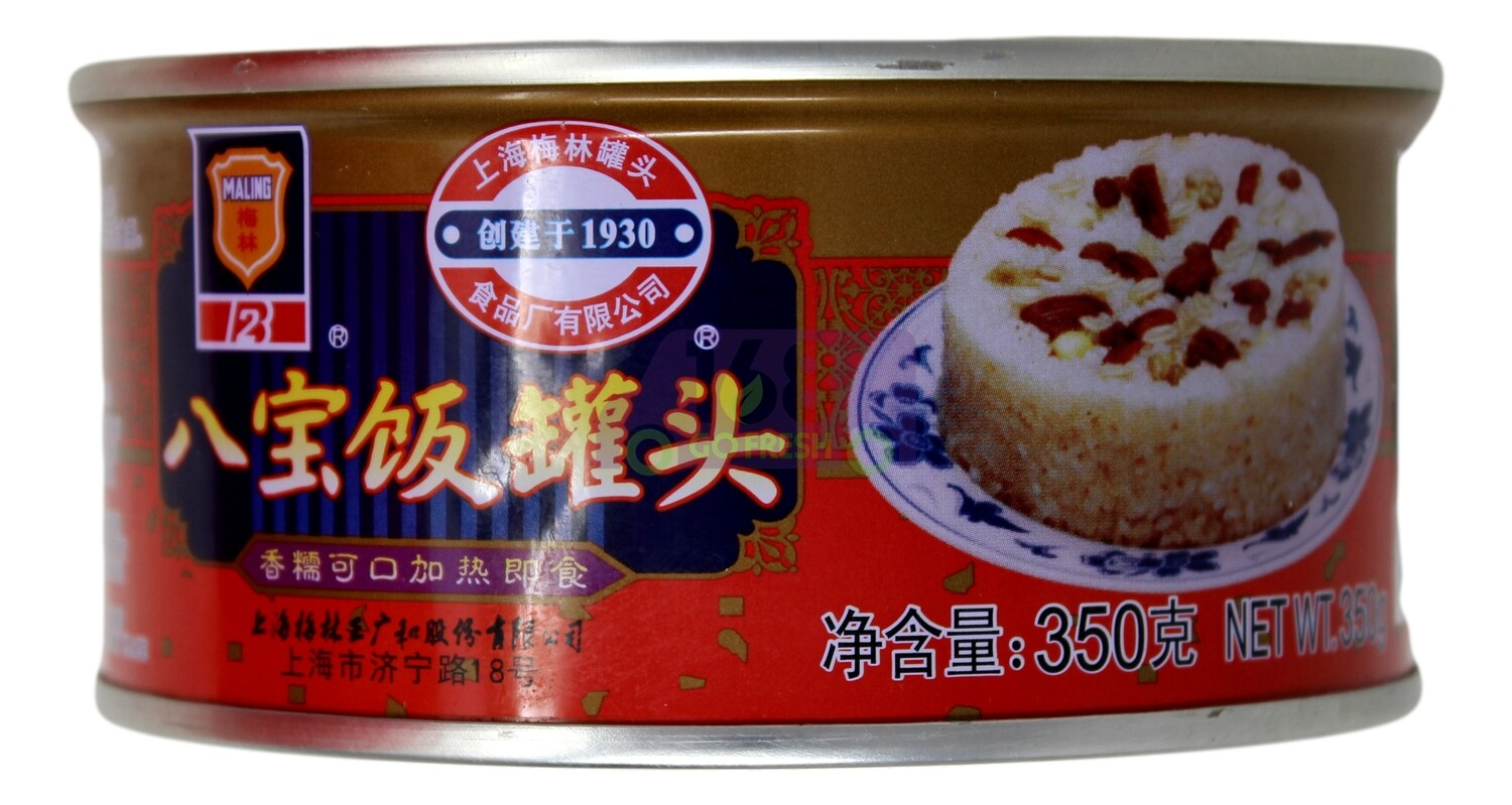 MALING CANNED RICE PUDDING 梅林 八宝饭罐头(350G)