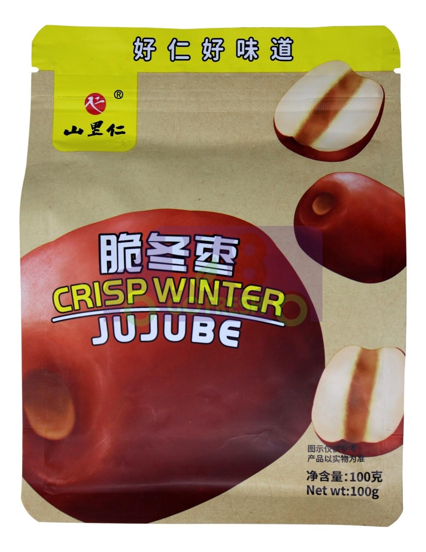 CRISP WINTER JUJUBE 山里仁 脆冬枣(100G)