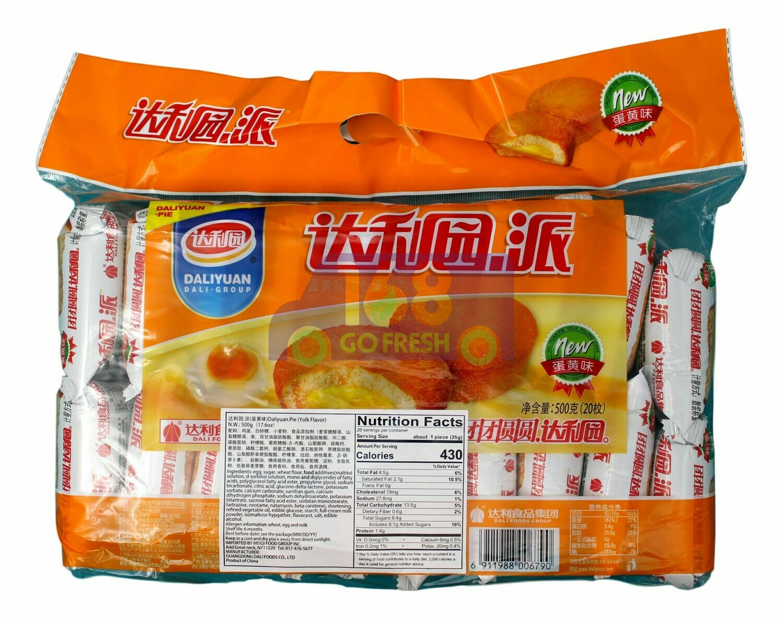 DALIYUYAN PIE 达利园派 蛋黄味(500G)