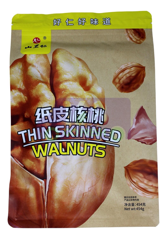 THIN SKINNED WALNUTS 山里仁 纸皮核桃 (454G)