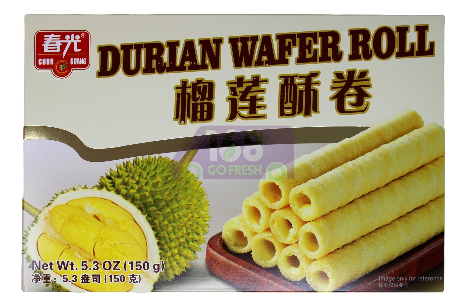 DURIAN WAFER ROLL 春光 榴莲酥卷(5.3OZ)