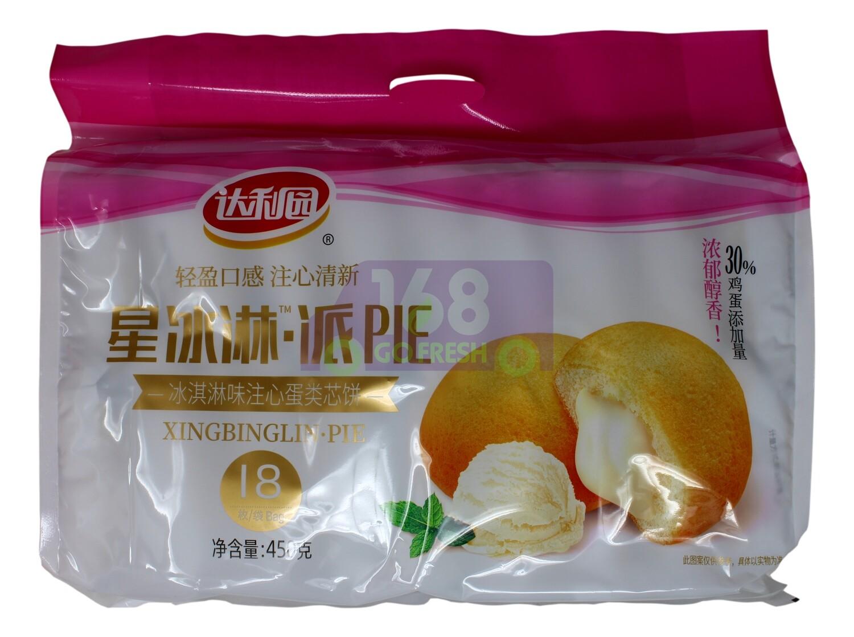 DALIYUAN PIE - PINEAPPLE FLV 达利园 星冰淇淋 冰淇淋味(450G)