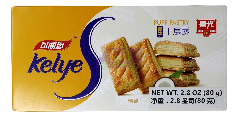 UFF PASTRY- COCONUT FLV 春光 可丽思 椰子千层酥(2.8OZ)