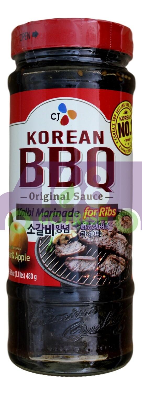 (小瓶)CJ BBQ Marinade  韩国 CJ 烧烤酱(480G)