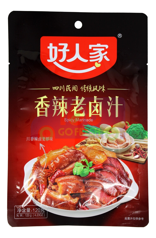 SPICY MARINADE 好人家 香辣老卤汁(120G)