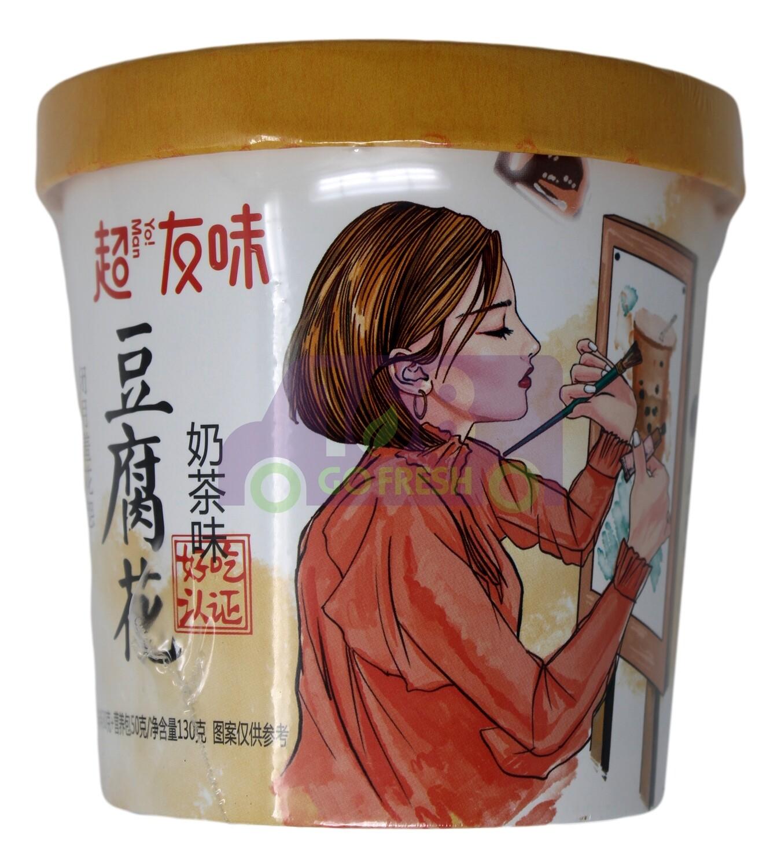 Soybean Pudding 超友味 豆腐花 奶茶味(130G)