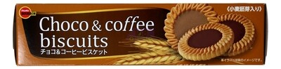 BOURBON CHOCO & COFFEE BISCUITS 日本 巧克力咖啡饼干(3.8OZ)332113
