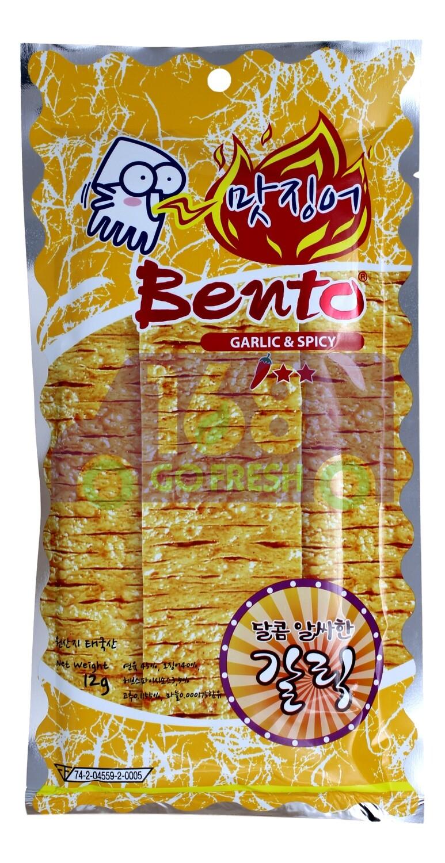 BENTO YAMI SQUID - GARLIC & SPICY 泰国BENTO 超辣鱿鱼片-蒜辣味(韩国版)