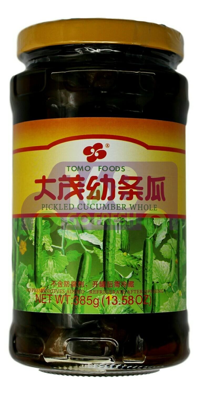 TOMO Whole Pickled Cucumber  大茂 幼条瓜(385G)