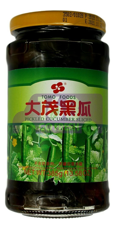 TOMO Slice Pickled Cucumber  大茂 黑瓜(385G)