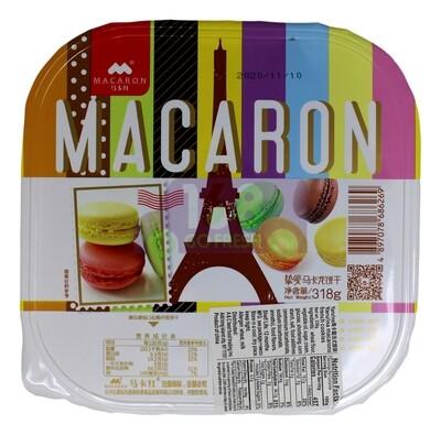 Macarons France Cookie 韩国 马卡红 马卡龙法式饼干(318g)