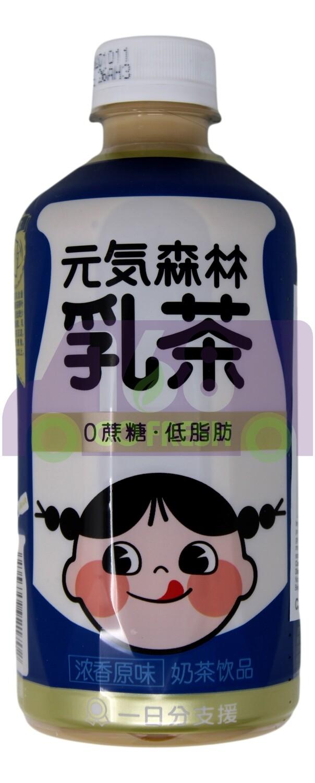 GENKI FOREST MILK TEA DRINK-ORIGINAL FLV 元气森林 浓香原味奶茶(450ML)