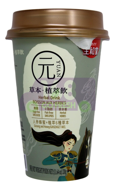 HERBAL DRINK GINSENG AND HONEY 生和堂 人参蜂蜜草本植萃饮 (11.64OZ)