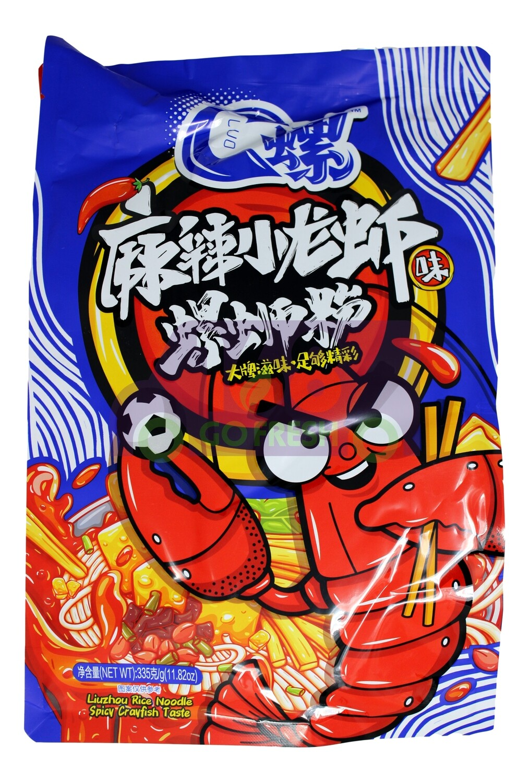 LIUZHOU RICE NOODLE SPICY CRAWFISH TASTE C螺 麻辣小龙虾味螺蛳粉(335G)