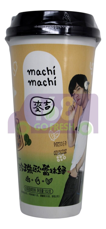 MACHI MILK TEA  麦吉 珍珠欧蕾墨抹绿奶茶(102G)