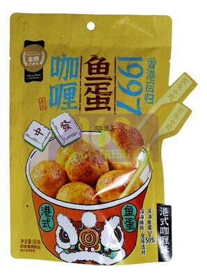 MYSA FISH BALL SNACK 金语 港式咖喱鱼蛋(90G)