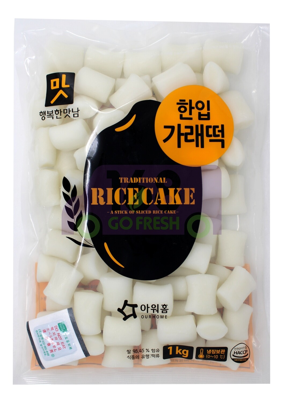 Korean Style Rice Cake 韩国 OURHOME  传统小年糕条(1Kg)