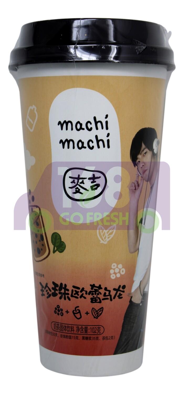 MACHI MILK TEA  麦吉 珍珠欧蕾乌龙奶茶(102G)