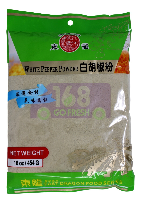 WHITE PEPPER POWDERI 东龙 白胡椒粉(454G)