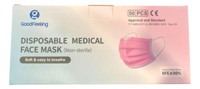 [On Sale] Box Medical Mask 盒装医用口罩(50个)