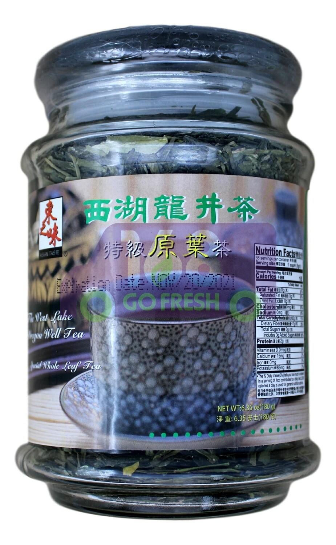 SPRING GREEN TEA 东之味 西湖龙井茶 特级原叶(6.35OZ)