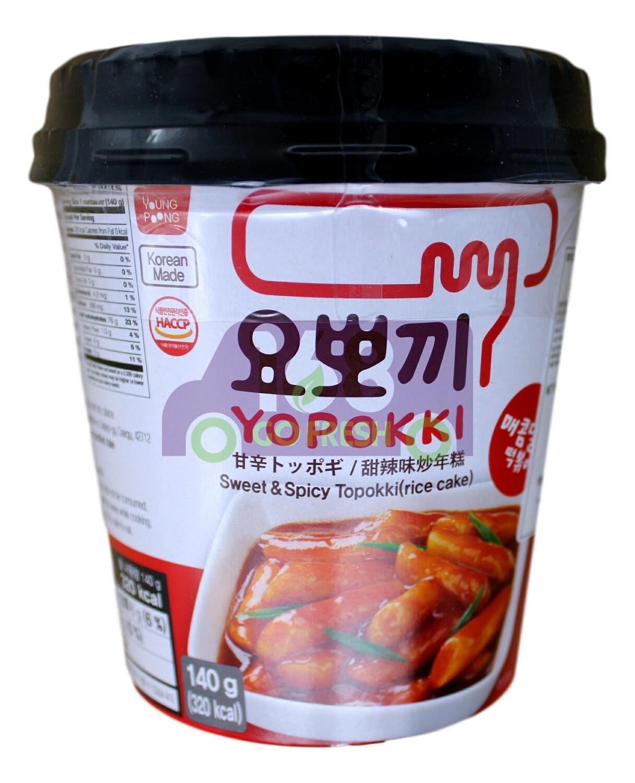 YOPOKKI RICE CAKE 韩国 即食Yopokki甜辣炒年糕