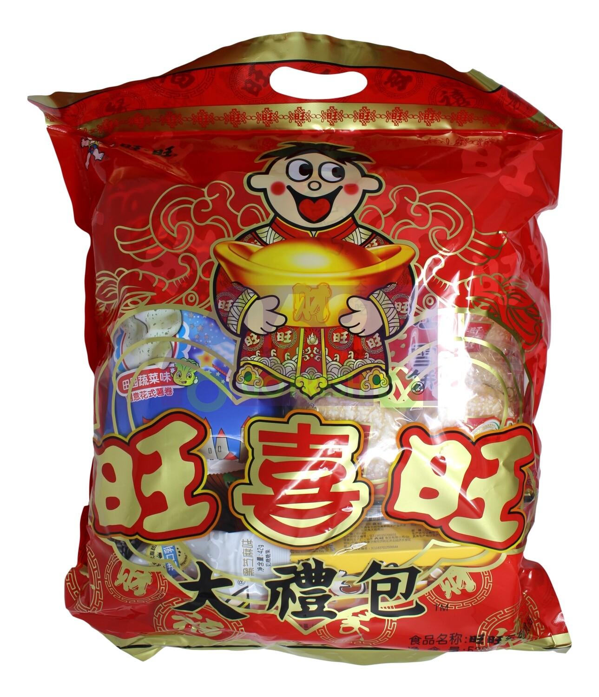 WANTWANT MIXED BISCUITS 旺旺 大礼包(混合装)