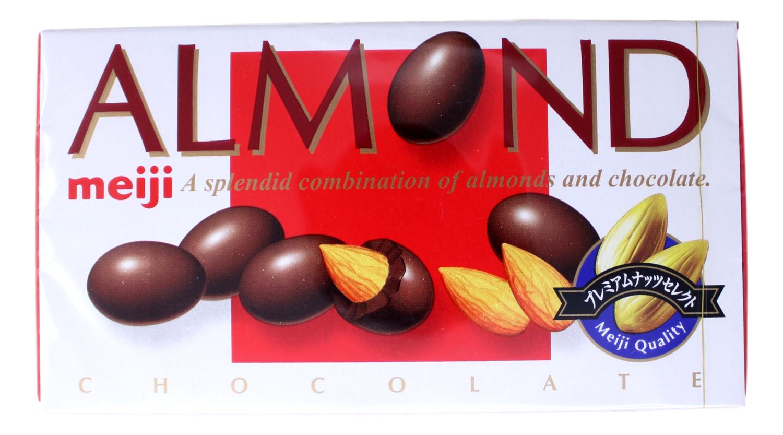 MEIJI ALMOND CHOCOLATE 日本明治杏仁巧克力(2.08OZ)