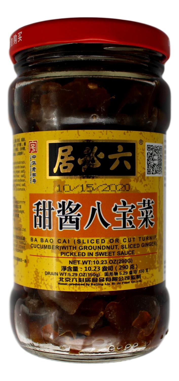 CHINESE SALTED VEGETABLE 六必居 甜酱八宝菜(10.23OZ)