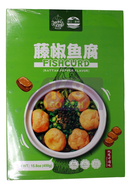 Fish Curd Rattan Pepper Flavor 湄公 酔鲜 藤椒鱼腐(15.8OZ)