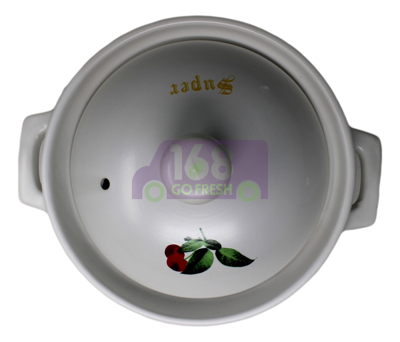 Super Cooking Pot 高耐热陶瓷锅 K303 (白色)