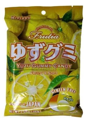 KASUGAI YUZU GUMMY CANDY 日本KASUGAI柚子软糖(3.77OZ)