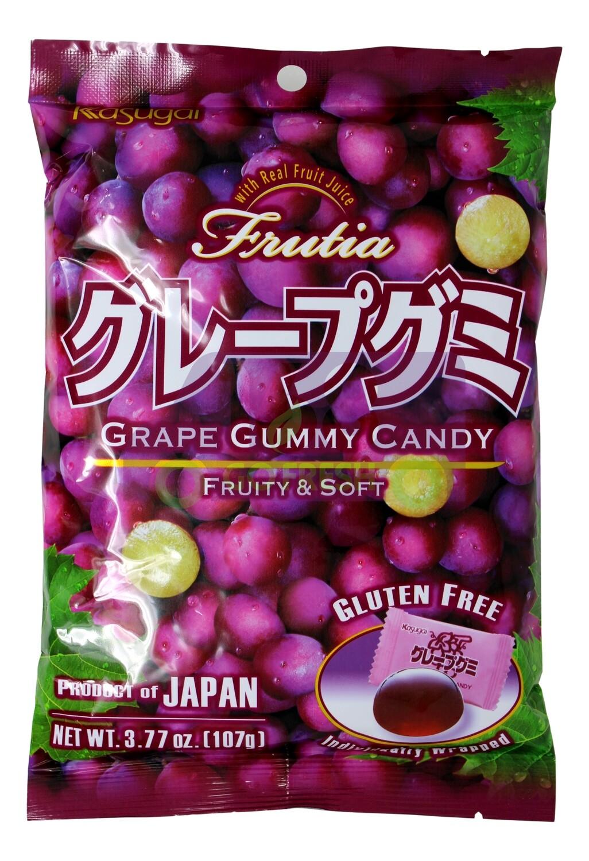KASUGAI GRAPE GUMMY CANDY 日本KASUGAI 葡萄软糖(3.77OZ)