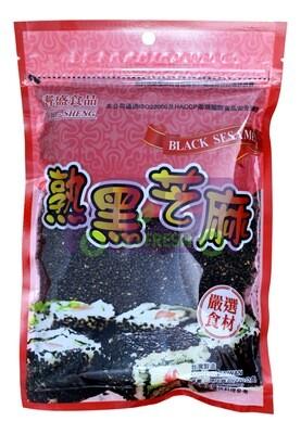 CHI-SHENG BLACK SESAME 耆盛熟黑芝麻(7.76OZ)