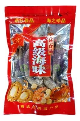 Premium Dried Alaska Sea Cucumber 8oz 优质阿拉斯加红参海参红海参8oz