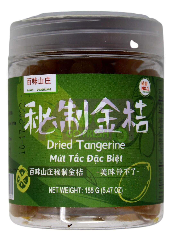DRIED TANGERINE 百味山庄 秘制金桔(155)