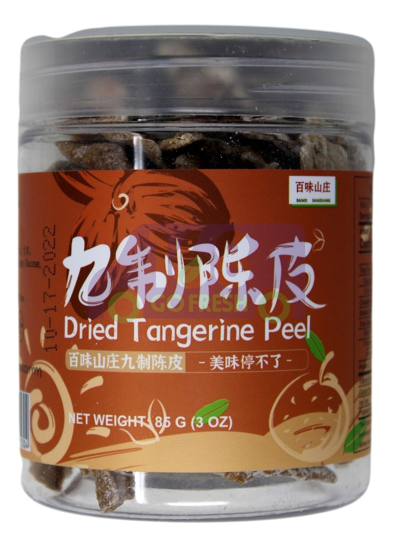 Dried tangerine peel 百味山庄 九制陈皮(85G)