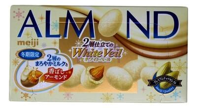 MEIJI ALMOND CHOCOLATE 日本明治杏仁白巧克力 冬季限定(2.08OZ)