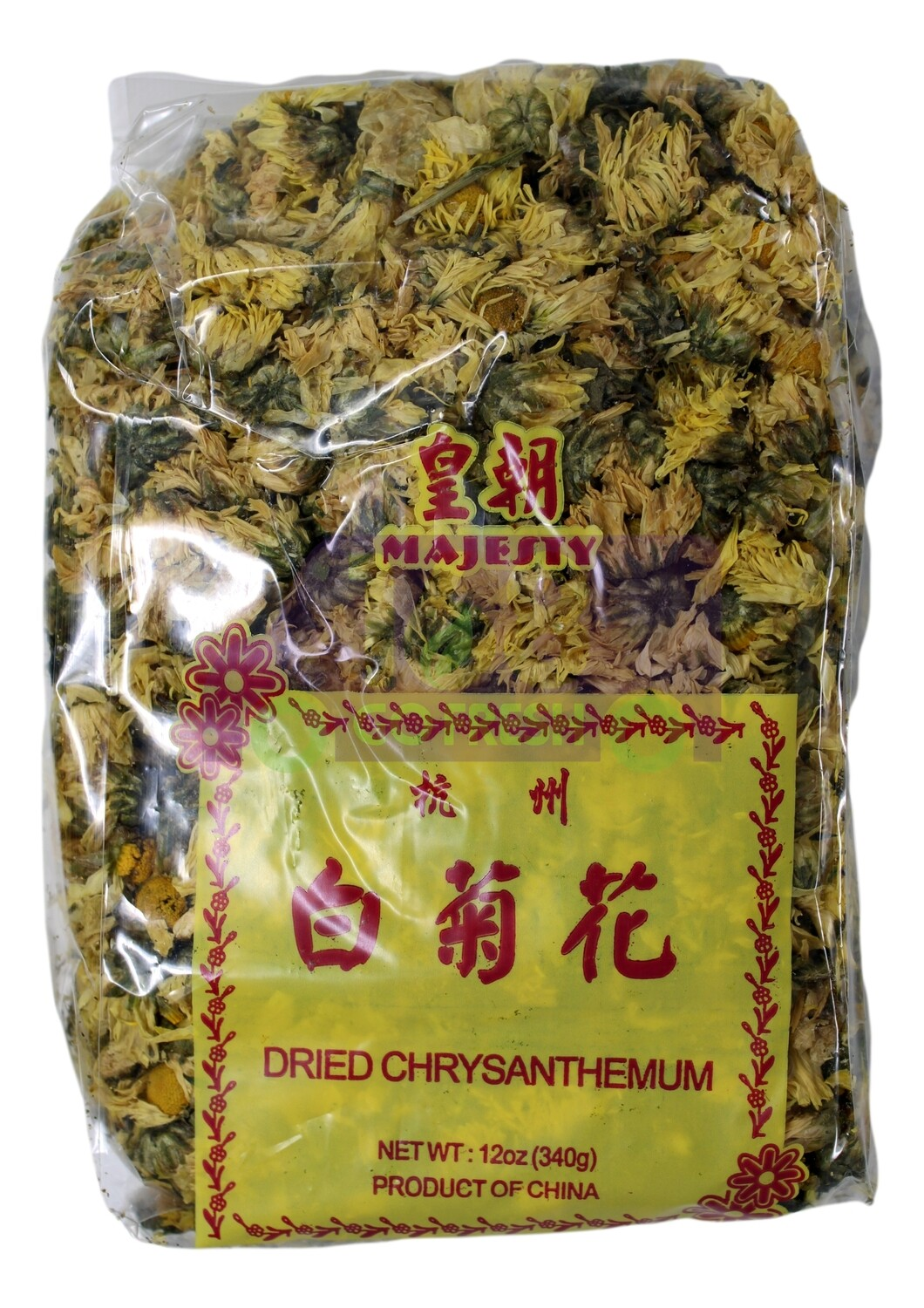 DRIED CHRYSANTHEMUM 皇朝 杭州白菊花(12OZ)