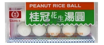 LAUREL'S - PEANUT RICE BALL 桂冠花生汤圆(200G)