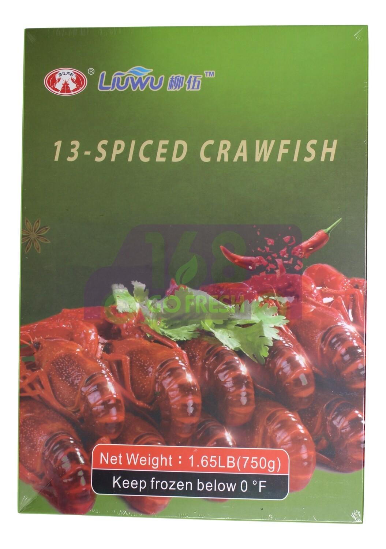 LIU WUFrozen Crawfish-hot spicy & 13-spiced柳伍 小龙虾-麻辣&十三香