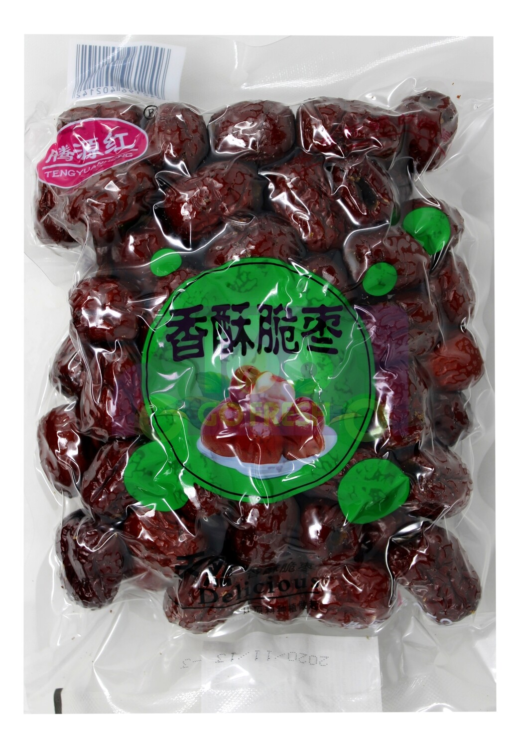 TENGYUANHONG DRIED PLUM 腾源红 香酥脆枣(252G)