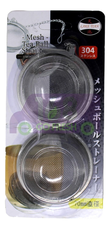 7CM TEA BALL STRAIN 天池 7cm不锈钢茶叶球形滤网