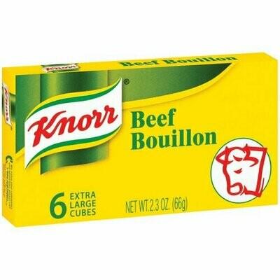 KNORR BEEF BOUILLON 家乐牌牛肉清汤(6粒装)