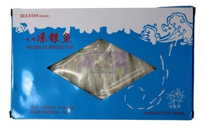 SILVER SIDE FISH SEA STAR 急冻盒装 太湖银鱼(2.2LB)